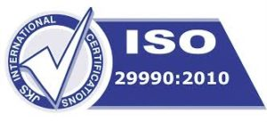 ISO 29990 Certification, ISO 29990 Consultant, ISO 29990 Consultancy