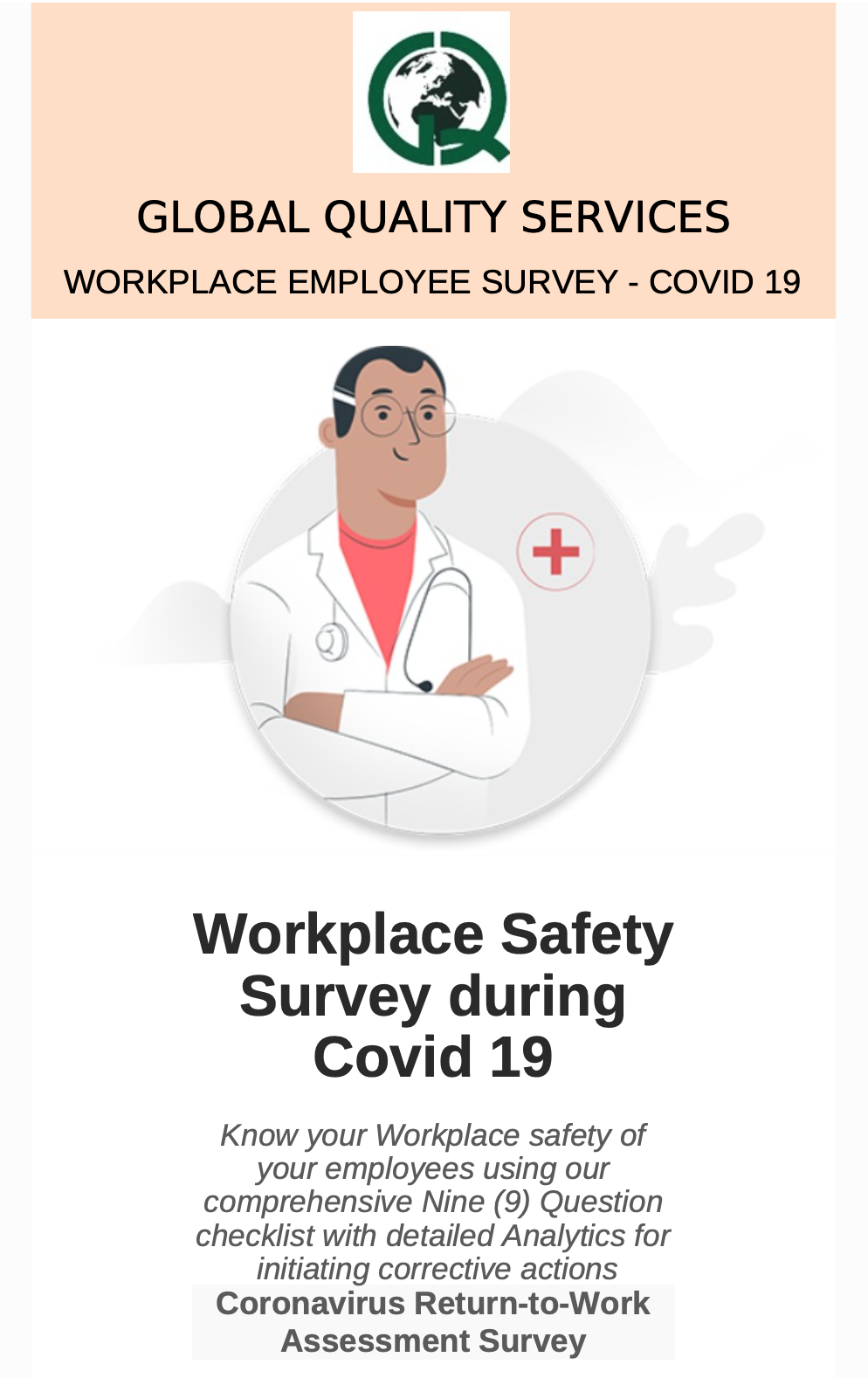 WORKPLACE SAFETY SURVEY DURING COVID-19