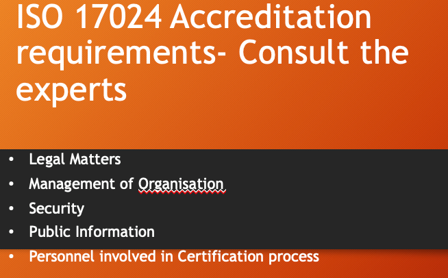 ISO 17024