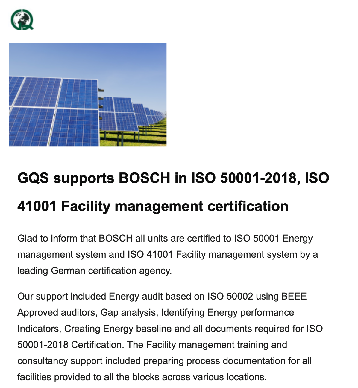 ISO 50001, ISO 41001 By a German Agency