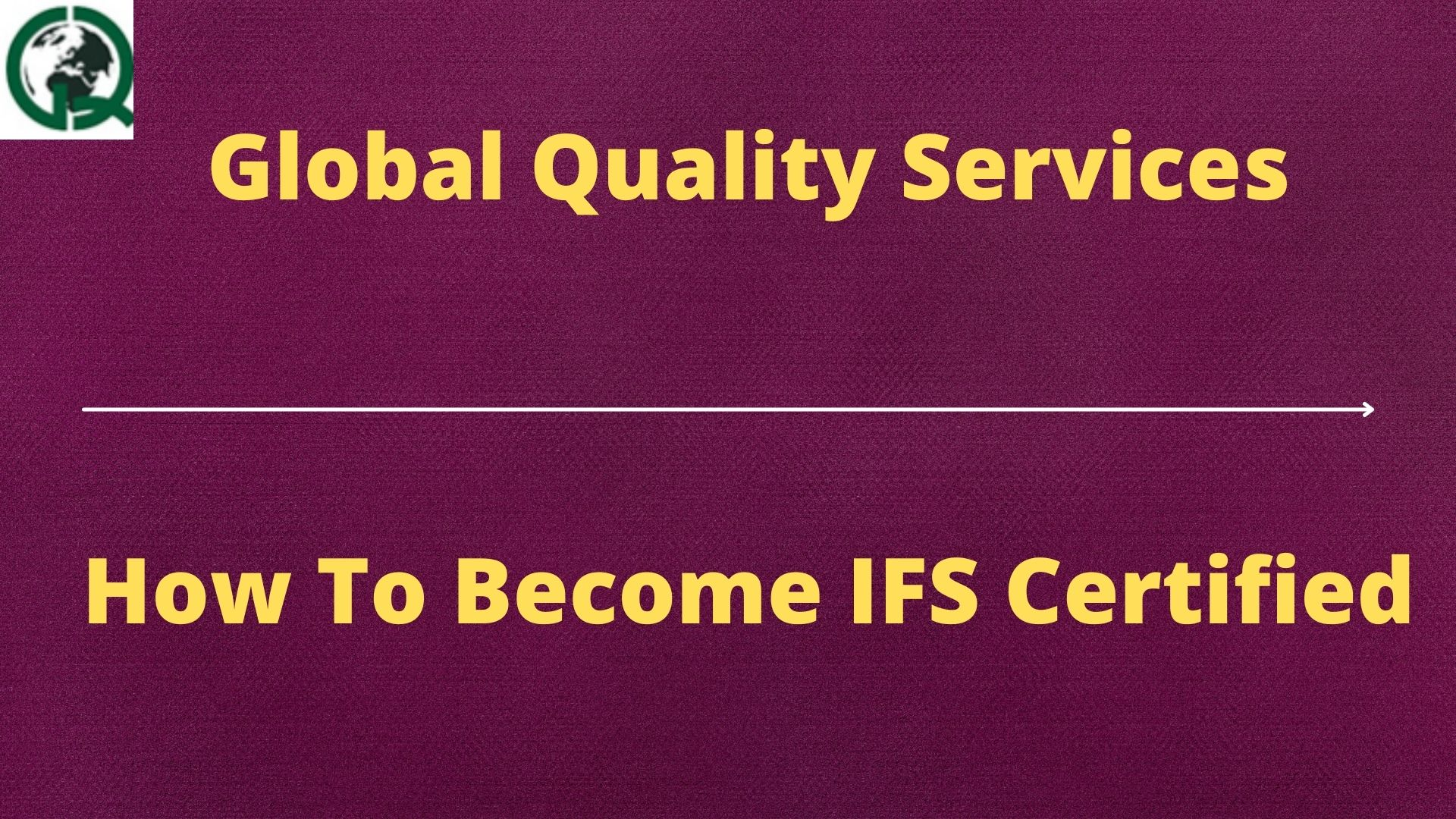 HOW TO BECOME IFS CERTIFIED