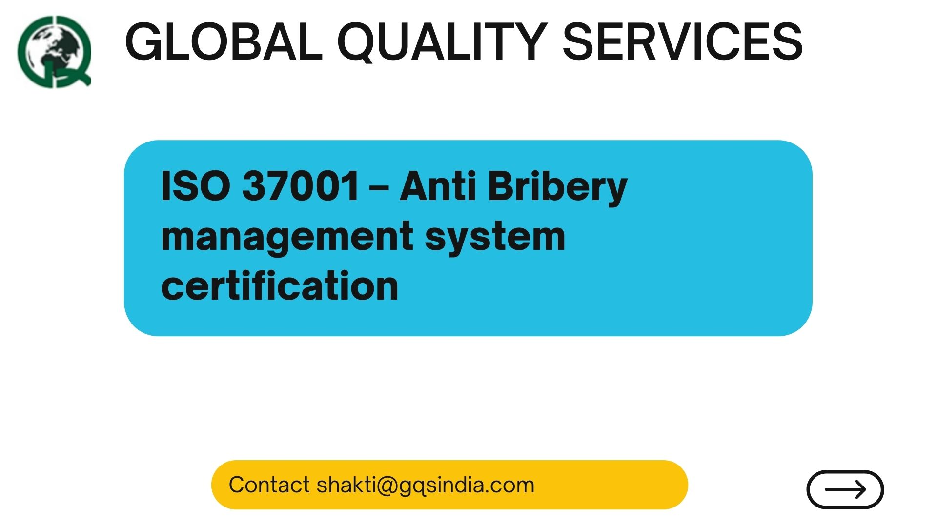 ISO 37001 – Anti Bribery management system certification (1)