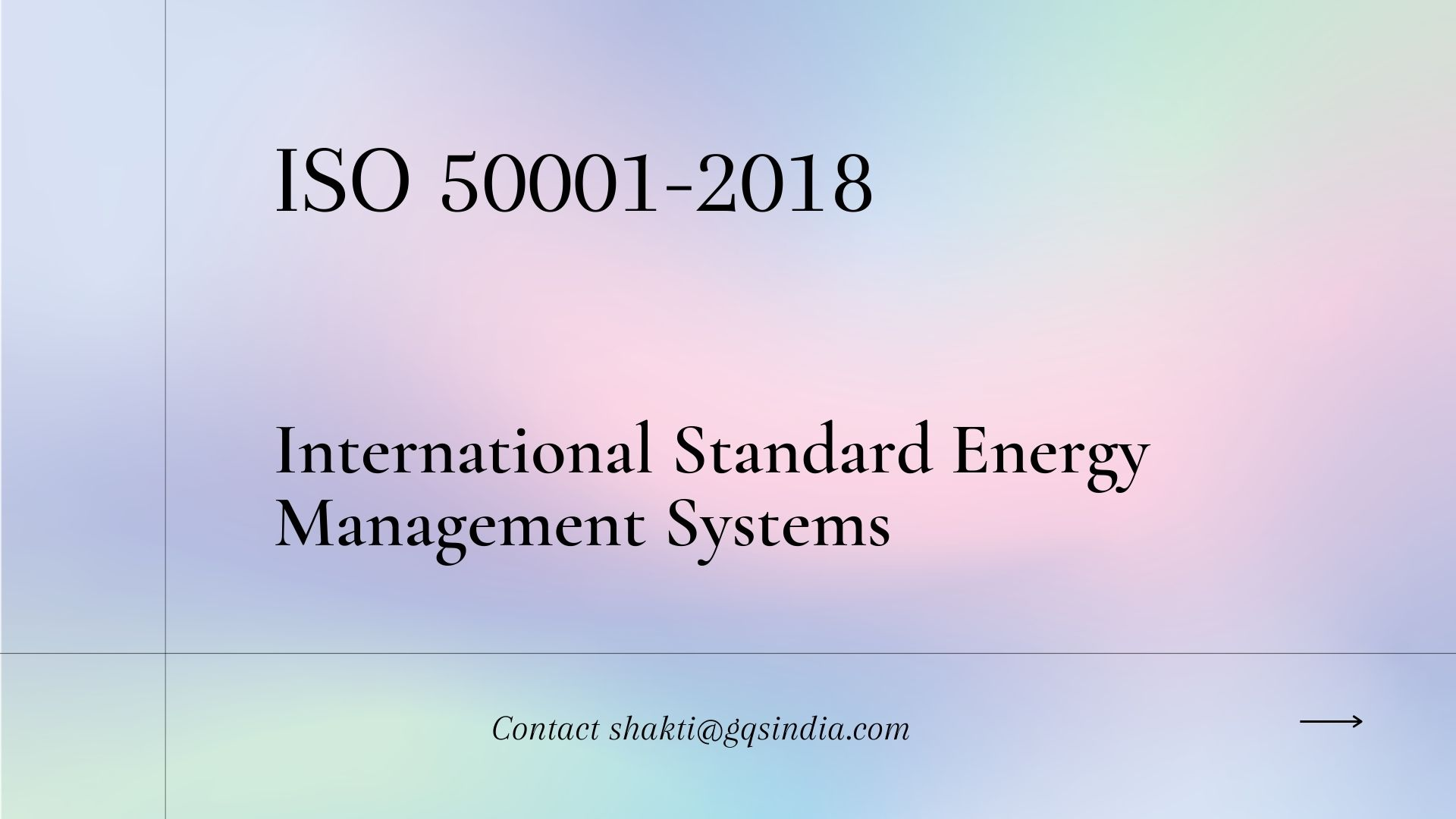 ISO 50001-2018 Certification