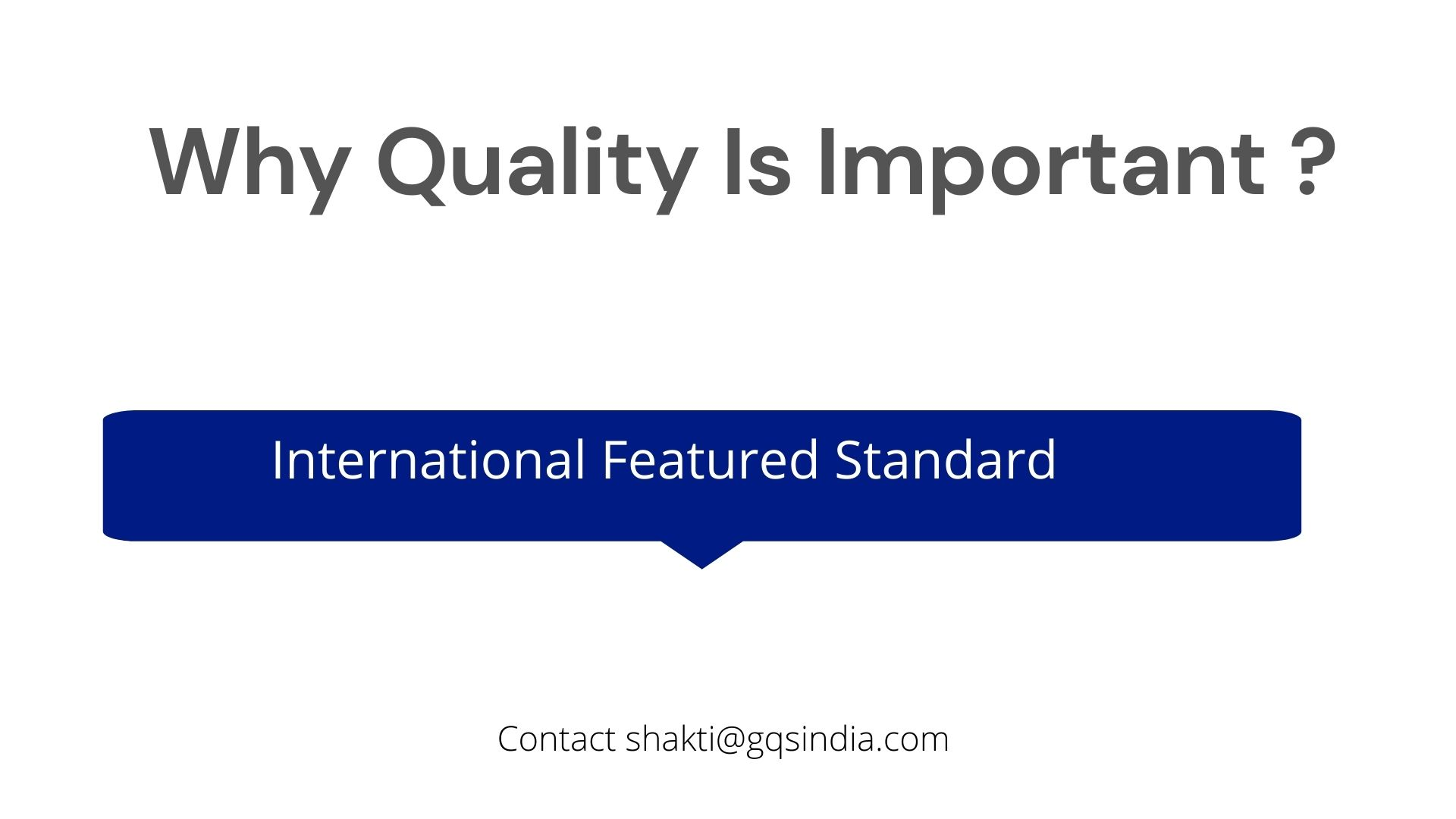 WHY IS IT IMPORTANT TO CERTIFY FOOD AND ITS QUALITY
