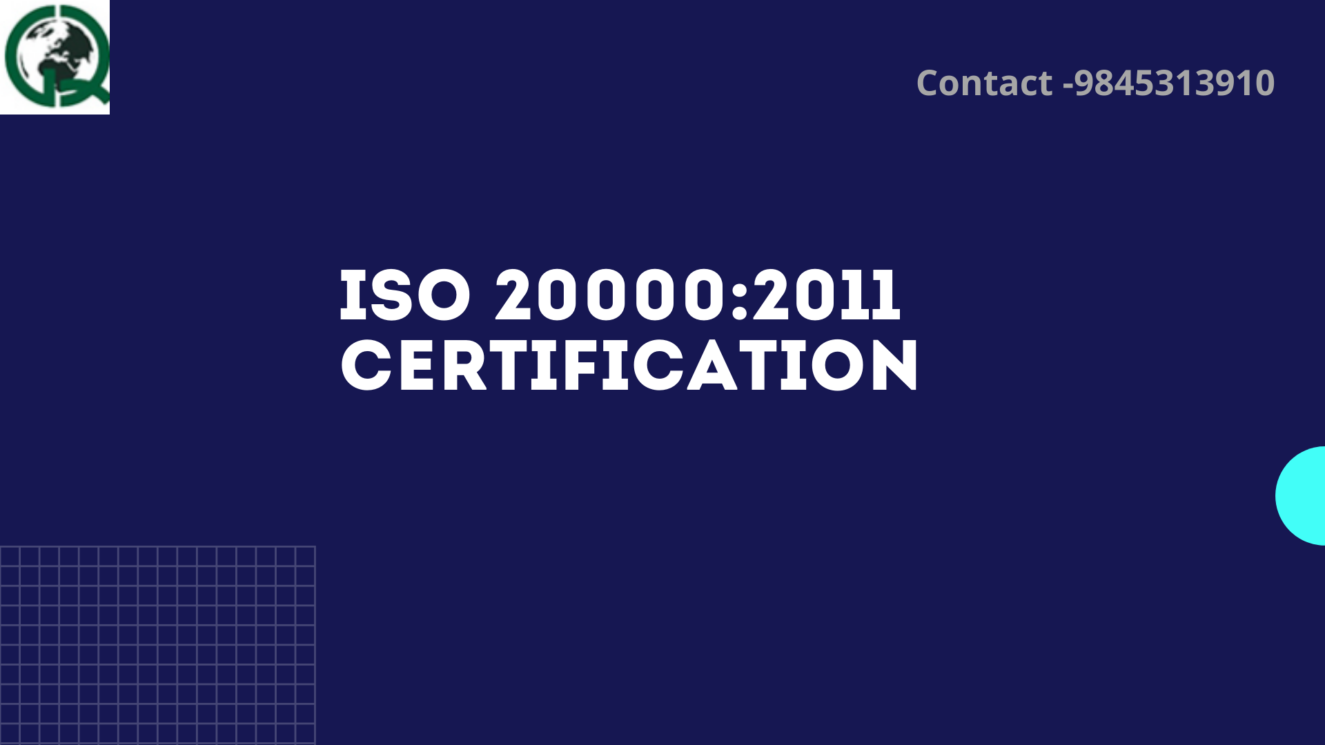 ISO 20000:2011 Certification
